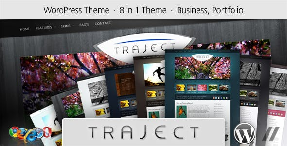 Traject - WordPress Portfolio and Business Theme
