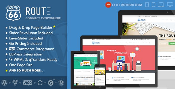 Route - Responsive Multi-Purpose WordPress Theme