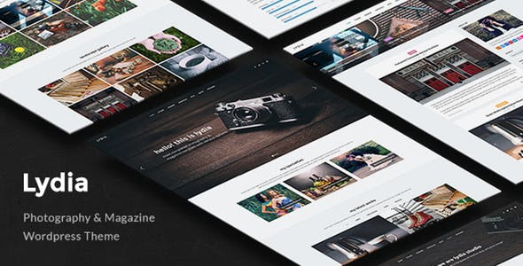 Lydia - Photography & Magazine WordPress Theme