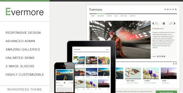 Evermore - Premium Responsive WordPress Theme