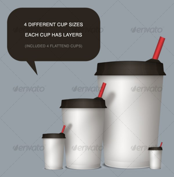 Coffee Cups Mockups