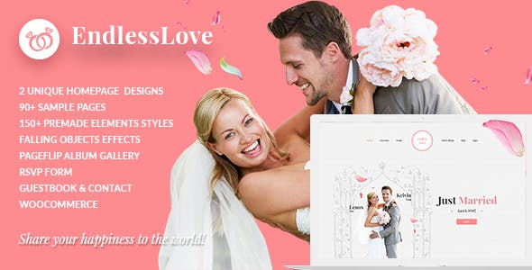 Wedding WordPress | EndlessLove Wedding