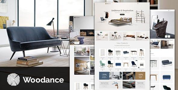 Woodance Furniture | Porfolio WooCommerce WordPress Theme