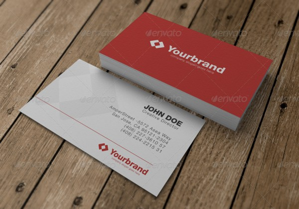 Photo Real Business Card Mockups