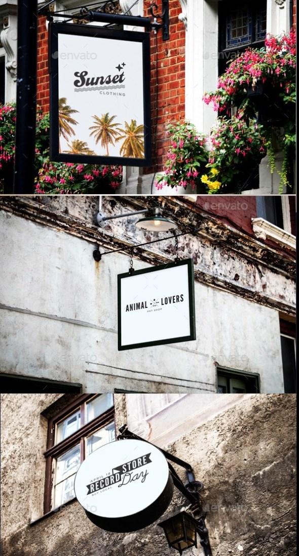 Signage & Facade Mockup
