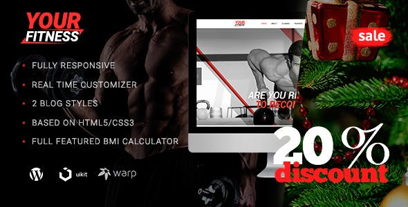 YourFitness — Sport Blog | Classes | Fitness Club | Gym | Crossfit & Bodybuilding WordPress Theme