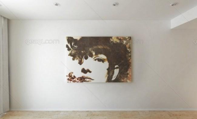 Wall Art MockUp PSD