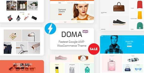 Doma - Fastest Google AMP WooCommerce Theme