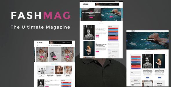 Fashmag - Lifestyle Blog & Magazine WordPress Theme