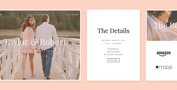 Taylor - Responsive Wedding WordPress Theme