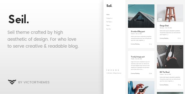 Seil - A Responsive WordPress Blog Theme