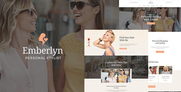 Emberlyn | Personal Stylist WordPress Theme
