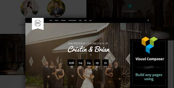 Wedding Emotions - WordPress Theme