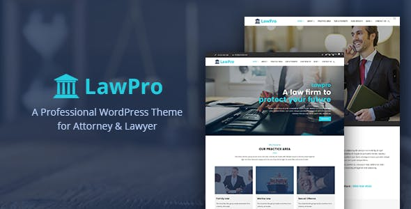 Lawpro - A Professional WordPress Theme for Attorney & Lawyer