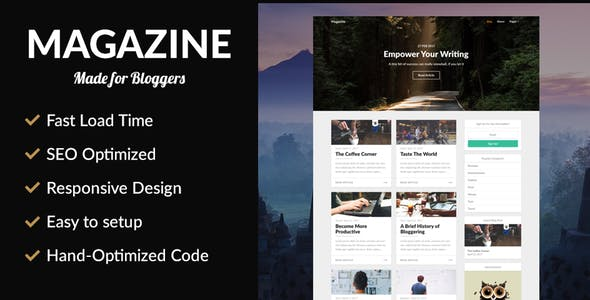 Magazine - SEO Optimized News Theme