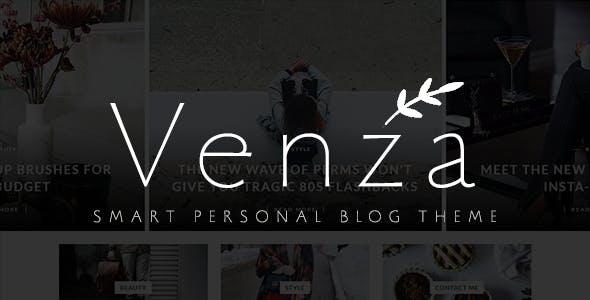 Venza - Smart Personal WordPress Blog Theme