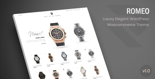 Romeo - Luxury Modern WooCommerce WordPress Theme