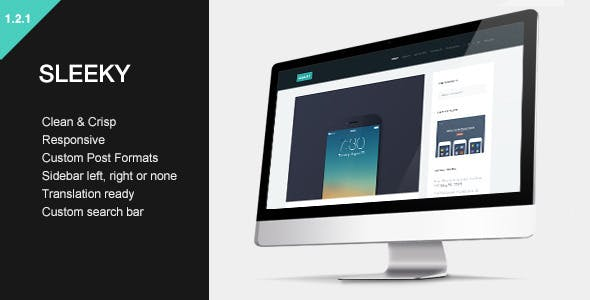 Sleeky - Clean Sidebar Style Theme