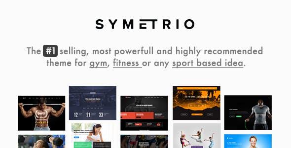 Gym & Fitness WordPress Theme - Symetrio
