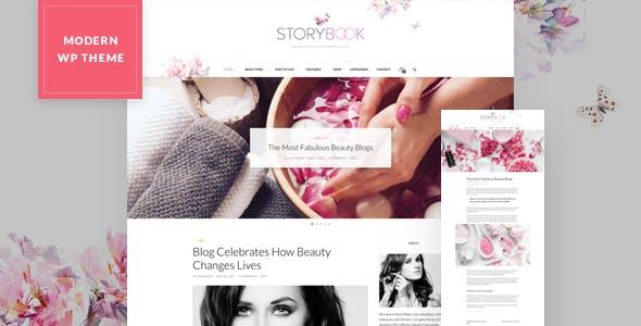 Storybook - Modern Blog & Shop Theme