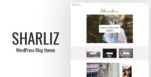 Sharliz - A Personal WordPress Blog Theme