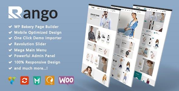 Rango - Minimalist Fashion Responsive WooCommerce WordPress Theme