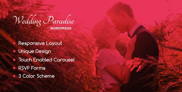 Wedding Paradise – A Wedding Theme