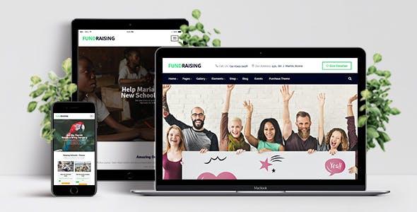 Fundraising - Ultimate Charity/Donations WordPress Theme