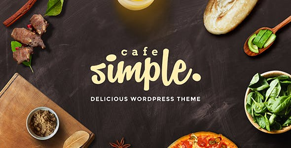 Cafe and Restaurant WordPress Theme - SimpleCafe