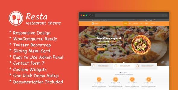RestaWP - Premium Restaurant Theme