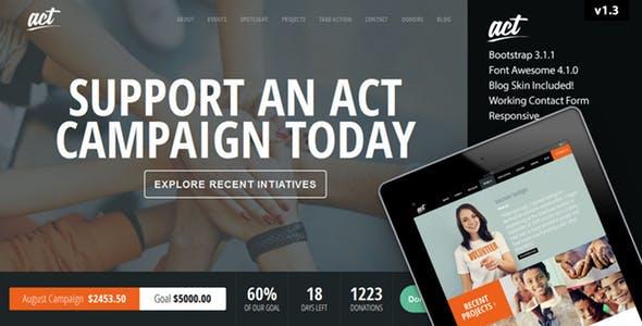 Act - Multipurpose Nonprofit Theme