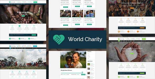 Ri Charity - NGO Fund Raising WordPress Theme
