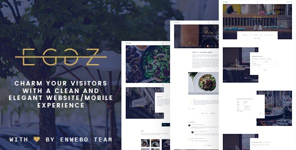 Restaurant Eggz - A Delicious Restaurant WordPress Theme