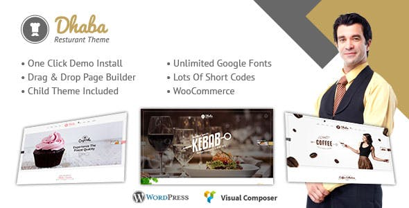 Restaurant - Restaurant WordPress Theme