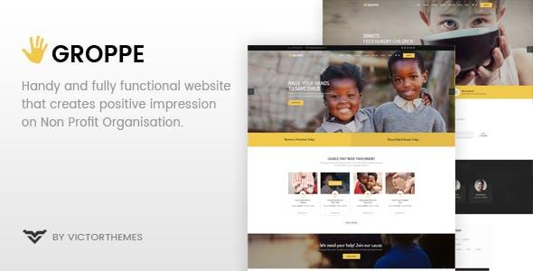 Groppe - Nonprofit WordPress Theme