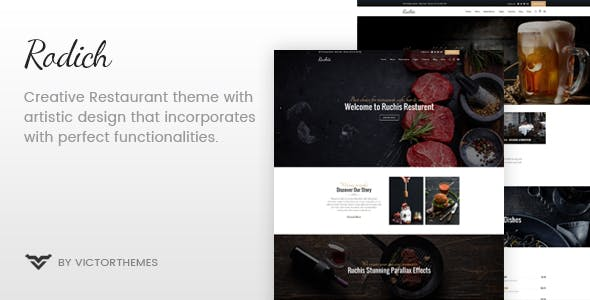 Rodich - A Restaurant WordPress Theme