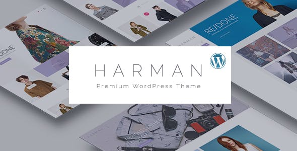 Harman - Multi-Concepts WooCommerce WordPress Theme