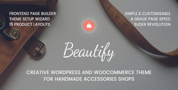 Beautify - WooCommerce Theme for Creative eCommerce