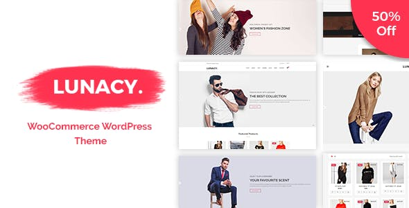 Lunacy - WooCommerce WordPress Theme