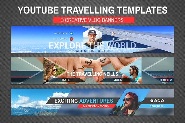 Youtube travelling templates