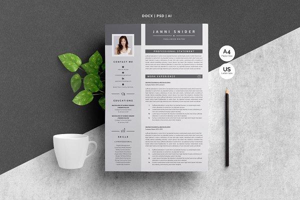 Word Resume Template