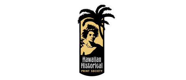 hawaiian palm tree logo 32