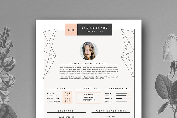 Creative Resume Template | 3 page
