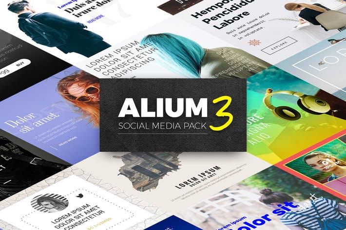 ALIUM 3 - Social Media Pack