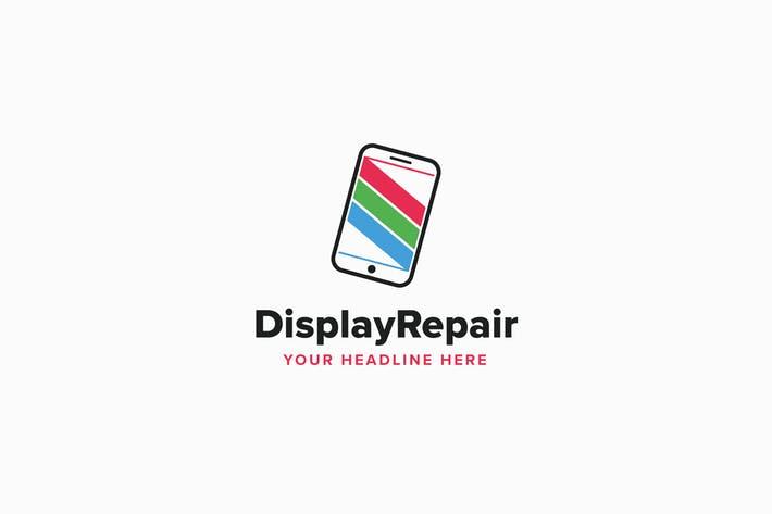 Display Repair Logo Template