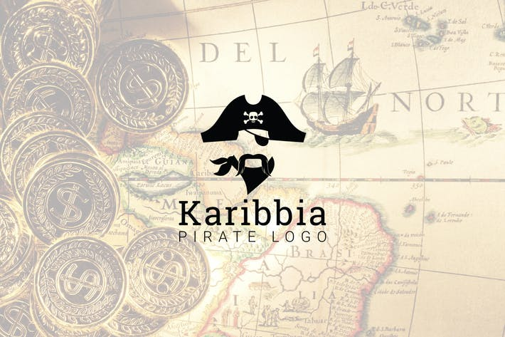 Karibbia : Pirate Logo