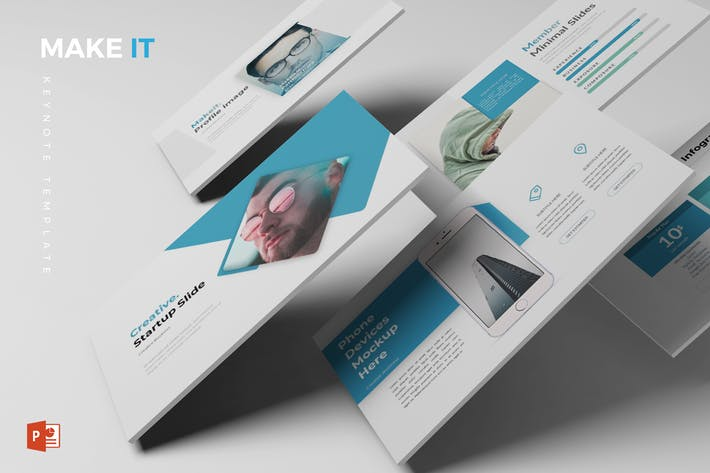 Makeit - Powerpoint Template