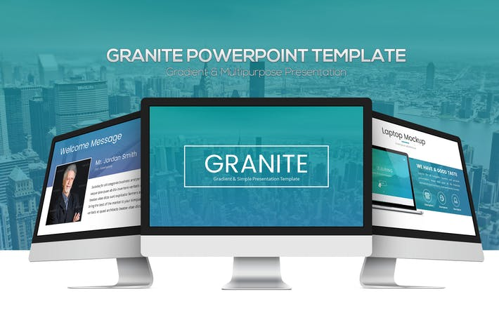 Granite Powerpoint Template