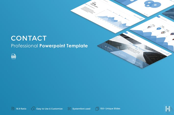 Contact Powerpoint Template