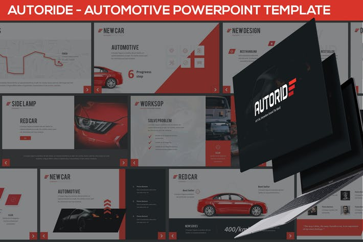 Autoride - Automotive Powerpoint Presentation